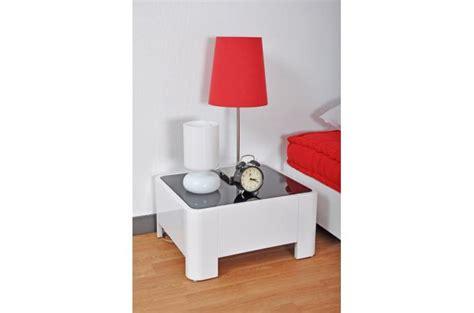 table de chevet blanc laque pas cher table de chevet blanc laqu 233 johnny table de chevet pas cher