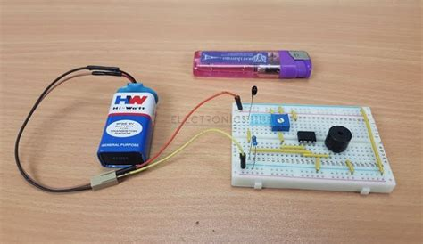 Simple Fire Alarm Circuits Low Cost