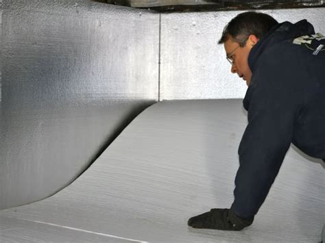 Insulating Crawl Space With Dirt Floor by Crawl Space Insulation With Terrablock In California