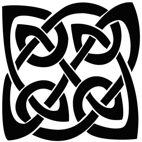illustration celtic knot silhouette shape