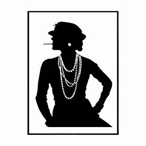 Coco Chanel Bilder : coco chanel poster svartvit chanel tavla till bra pris ~ Cokemachineaccidents.com Haus und Dekorationen