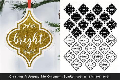 Arabesque Christmas Ornament Svg  – 98+ SVG PNG EPS DXF File
