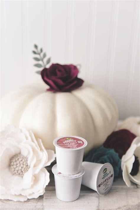 diy fall bridal shower coffee cozies with keurig