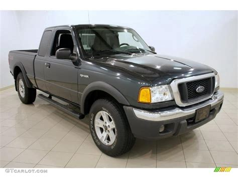ranger ford 2005 2005 dark green satin metallic ford ranger fx4 off road