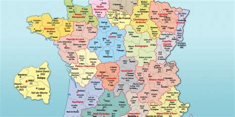 Carte De Avec Principales Villes A Imprimer by Infos Sur Carte De La Avec Ses Villes Principales