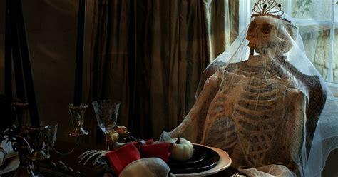 haunted halloween dining room hometalk