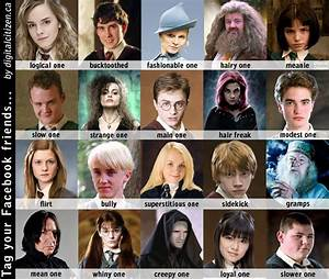 Harry Potter Character LOLZ - Harry Potter Photo (16961883 ...