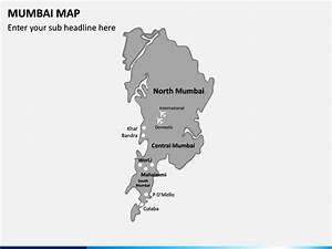 Mumbai Map Powerpoint