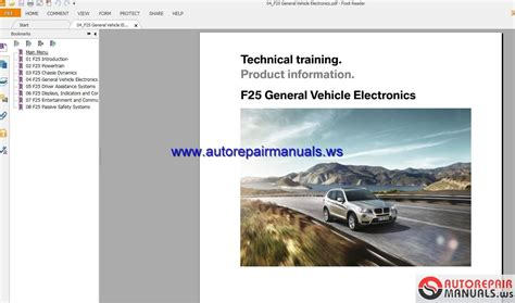 small engine repair training 2012 bmw 7 series engine control bmw x3 f25 technical training auto repair manual forum heavy equipment forums download