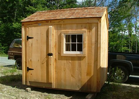 6x8 Wooden Shed Kit by Post And Beam Sheds 6x8 Sheds 6x8 Shed Plans