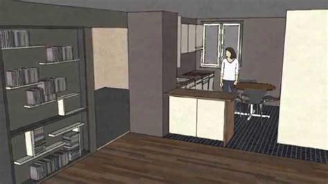 sketchup cuisine dessiner une cuisine sketchup