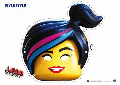 Lego Mask Face Printable Masks Coloring Pages