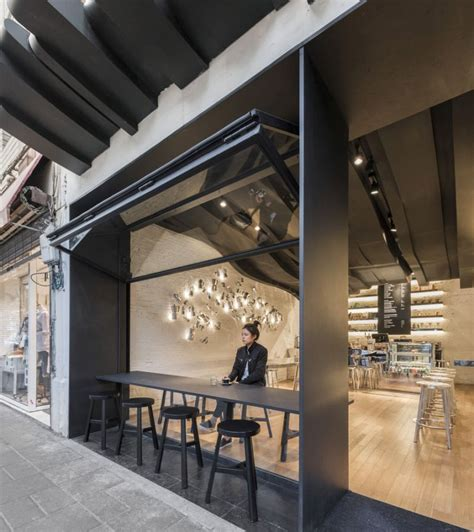 cafe aroma translated   sculptural design  shanghai