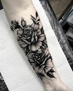 Tattoo Arm Frau Rosen Classycloud Co