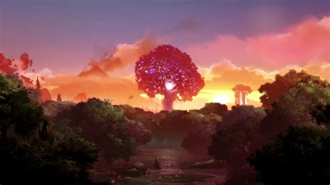 Wallpaper Engine Tree Breeze Animated Wallpaper Youtube