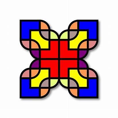 Clipart Shapes Pattern Clip Patterns Mosaic Ornament