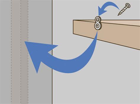 ways  hang floating shelves wikihow