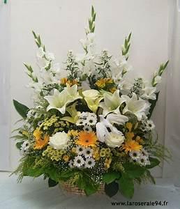 Corbeille De Fleurs Pour Mariage : corbeille de mariage fleurs le mariage ~ Teatrodelosmanantiales.com Idées de Décoration