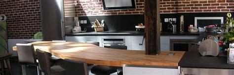 plan de travail cuisine bois brut mobilier de cuisine en bois massif simple cuisine o