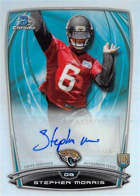 Stephen Morris autographed Football Card (Jacksonville ...