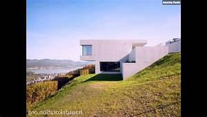 Haus Am Hang : modernes haus mit minimalistischem design am hang youtube ~ A.2002-acura-tl-radio.info Haus und Dekorationen