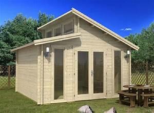 Wochenendhäuser Aus Holz : ein gartenhaus aus massivem nadelholz kann seine besitzer ber mehrere generationen erfreuen ~ Frokenaadalensverden.com Haus und Dekorationen
