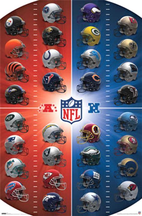 nfl football teams helmet logos art prints posters pictures