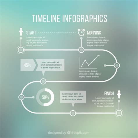 Timeline Web Template Free by Timeline Infographic Template Vector Free Download