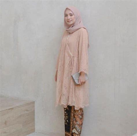ide inspirasi baju kebaya brokat terbaru   tampil cantik  kekinian pakaian