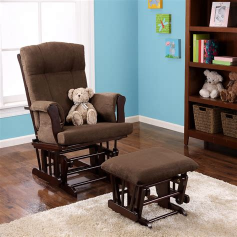 dorel rocking chair with ottoman dorel glider rocker ottoman espresso shop your way