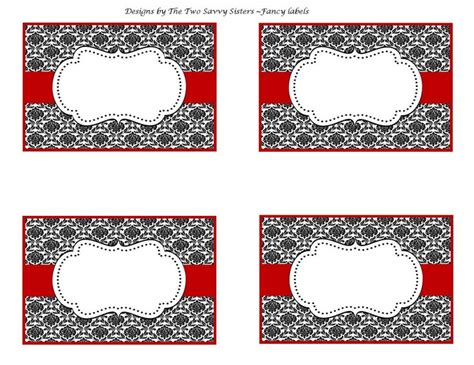 fancy christmas tags chic valentines fancy blank labels