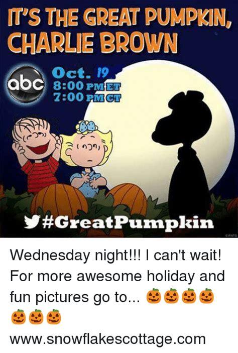 Charlie Brown Memes - 25 best memes about great pumpkin great pumpkin memes