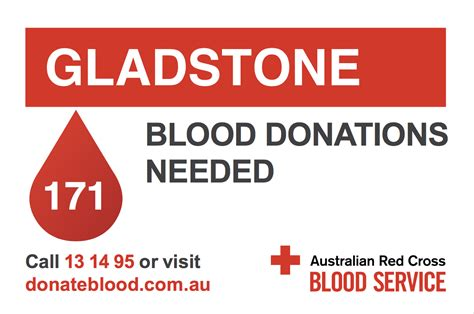 Give blood - Blood Donations needed - Gladstone News