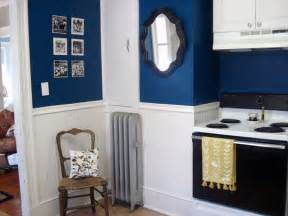 blue kitchen paint color ideas classically modern nest if the outside isn t navy the inside will be