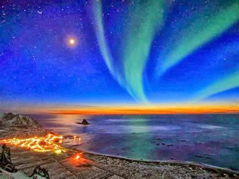 nicest pictures sunset norway