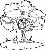 Coloring Tree Treehouse Pages Drawing Draw Colouring Boomhutten Magic Cartoon Annie Kleurplaten Orphan Fun Oregon Printable Getdrawings Clipart Getcolorings Jack sketch template