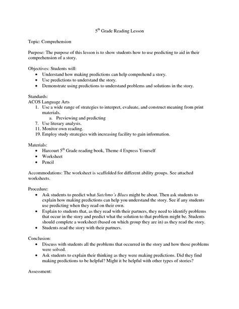 printables ela worksheets for 5th grade