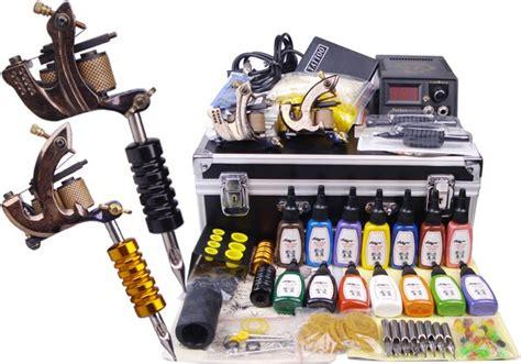 Damascus Tattoo machine Complete Tattoo kit professional