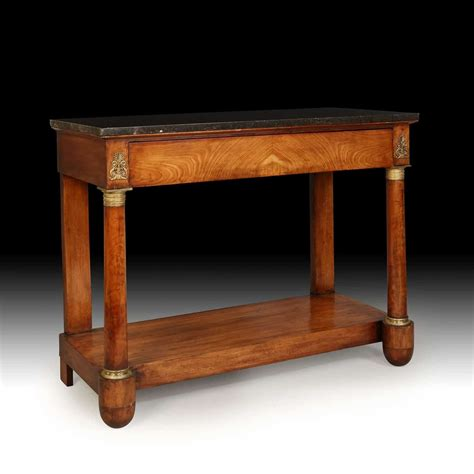 vintage console tables for antique empire mahogany console table nicholas 8826