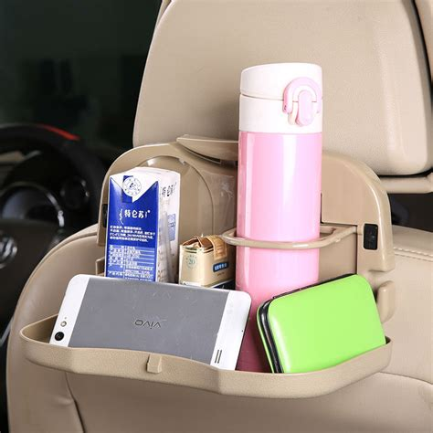 car multifunction foldable seat back meal table meja