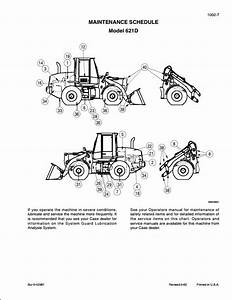 Case 621d Wheel Loaders Service Repair Workshop Manual