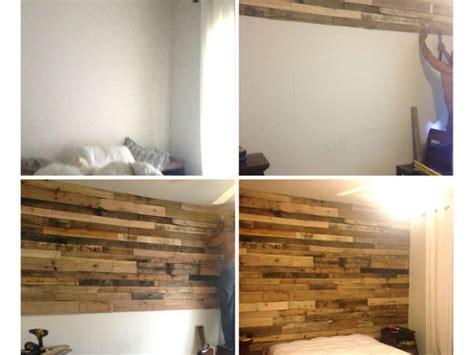 idee de genie cuisine 43 idées déco pour habiller un mur avec du bois