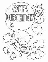 Coloring Birthday Happy Printable Dad Grandma Cards Wishes Grandpa Brother Colouring Balloon Sheets Birthdays Balloons Bestcoloringpages Worksheets Flying Getcolorings Cartoon sketch template