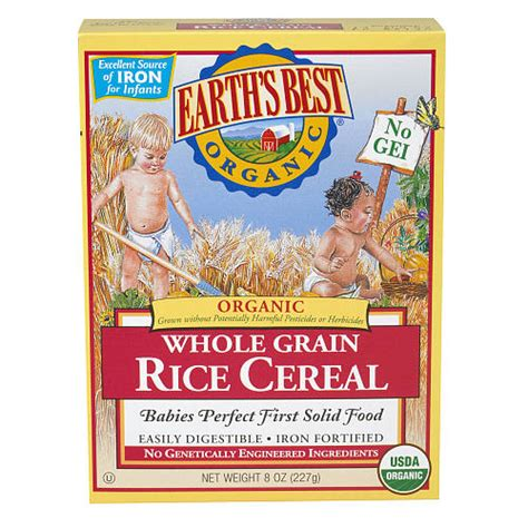 Organic Rice Cereal | BabiesRUs | Earth's Best