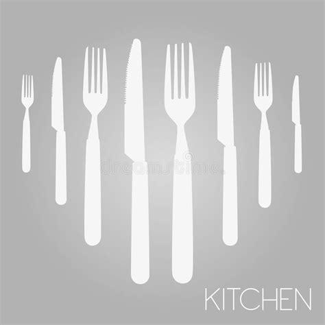 outil de conception cuisine outil de cuisine illustration de vecteur illustration du