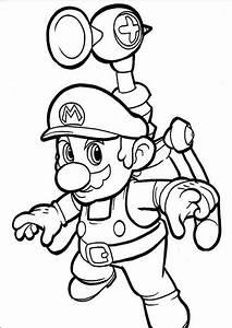Ausmalbilder, Super, Mario, 13