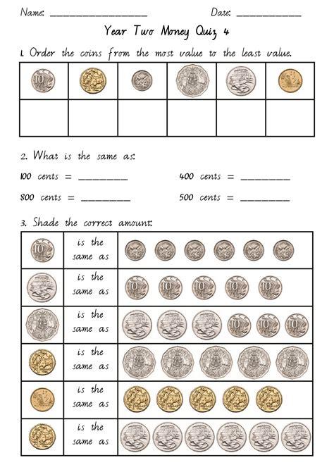 money year 2 pdf maths australian money teaching