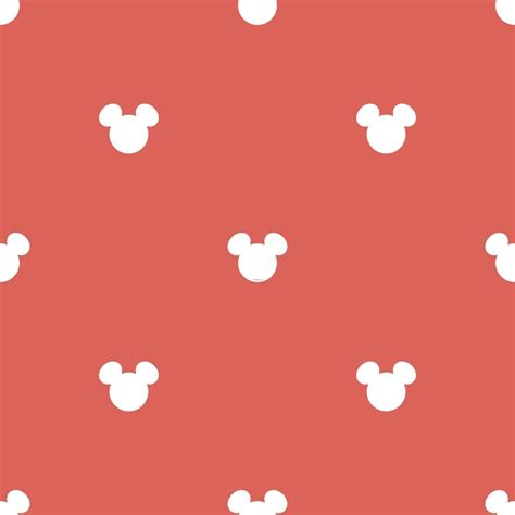 galerie official disney mickey mouse logo pattern childrens wallpaper mk3015 1 i