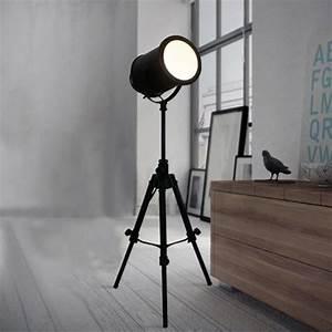 Lampe Type Industriel : lampe sur pied industrielle vintage ~ Melissatoandfro.com Idées de Décoration