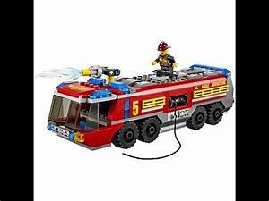 Vidéos De Lego : lego city cami n de bomberos aeroportuario lego juguetes para ni os youtube ~ Medecine-chirurgie-esthetiques.com Avis de Voitures